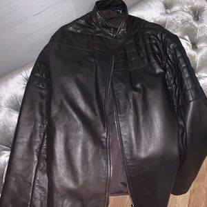 Armani Men's Leather Jacket